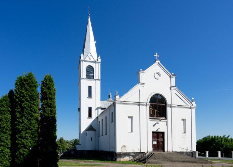 Išlaužo Švč. Mergelės Marijos, Krikščionių Pagalbos, bažnyčia